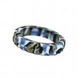 Tread Bangle (Teen / Young Adult) - 'Tank' - Blue Camo Tyre